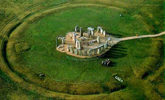 Stonehenge foto aerea