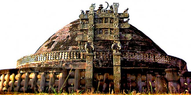Stupa de Sanchi, Imperio Maurya