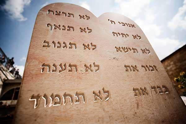 tablas 10 mandamientos