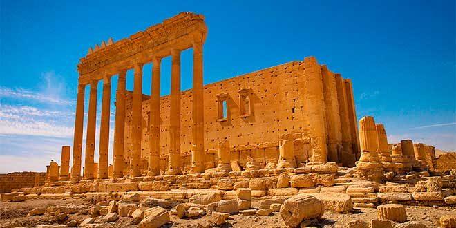templo bel siria