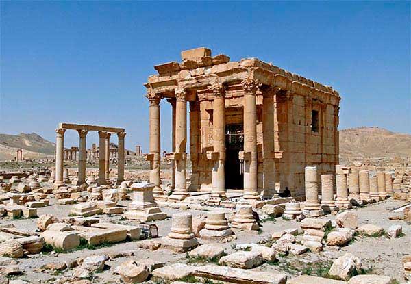 templo de baal shamin