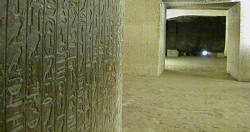 texto en las piramides