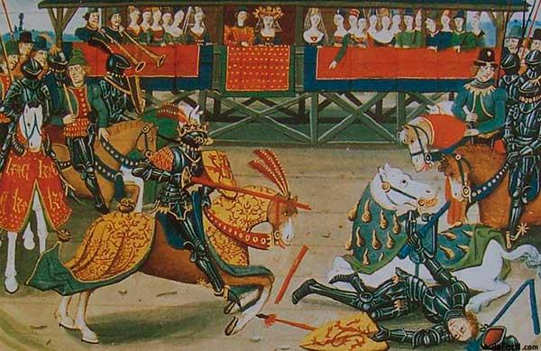 torneo en el feudalismo