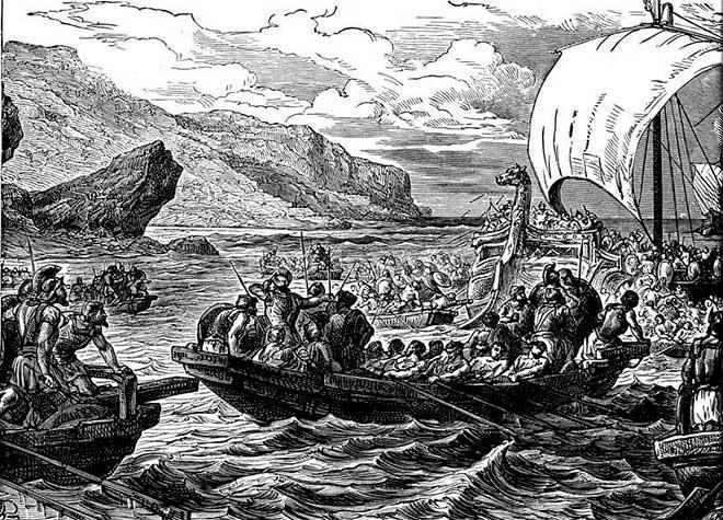 viajes fenicios