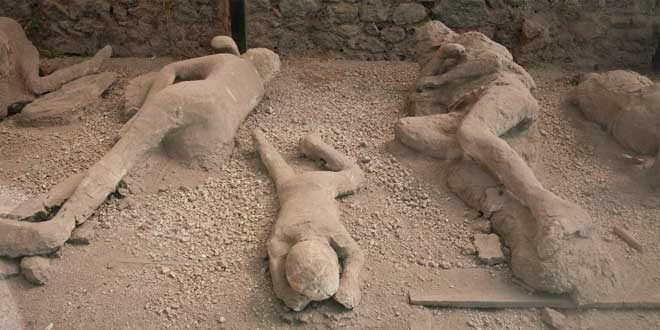 Víctimas de Pompeya